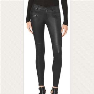 Micheal Kors Leather Pants Size 4